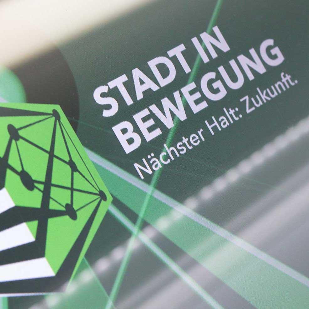 Logo des Projekts Stadt in Bewegung